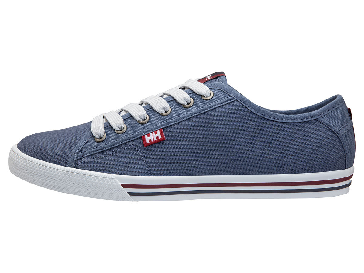 Helly Hansen FJORD CANVAS - VINTAGE INDIGO / GRAPHITE - EU 40.5/US 7.5 (10772_701-7.5 )