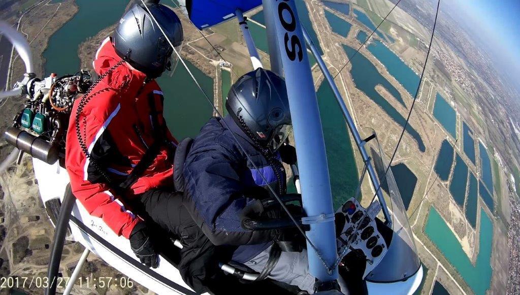 RÉSZLETFIZETÉS - Sárkányrepülő élmény-séta repülés: 15 perc elméleti oktatás, A Duna kanyar végig repülés / fő