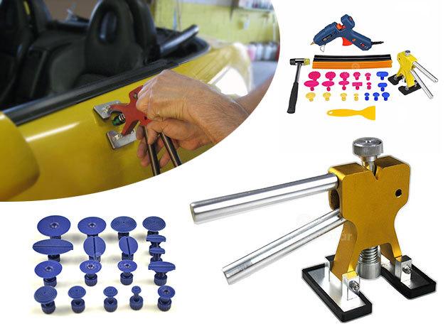 Horpadás javító szett ajándék ragasztóval - az autó fényezésében nem okoz kárt, egyszerűen használható
