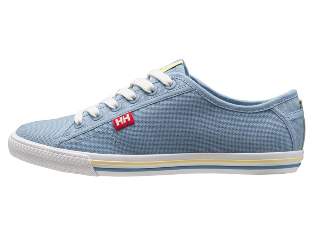 Helly Hansen W OSLOFJORD CANVAS - DUSTY BLUE / OFF WHITE / - EU 37.5/US 6.5 (10836_555-6.5F )