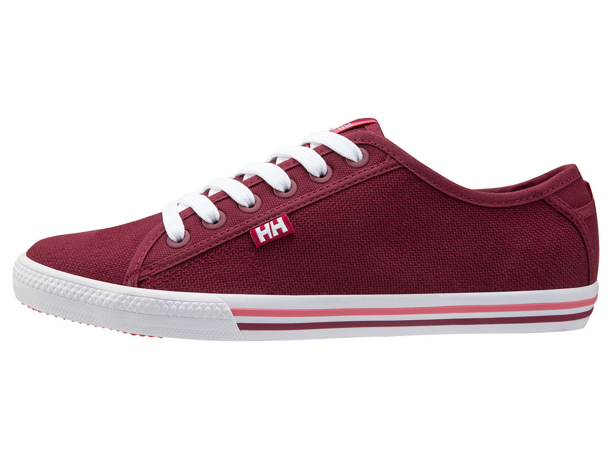 Helly Hansen W OSLOFJORD CANVAS - PLUM / PERSIAN RED / SHEL - EU 38.7/US 7.5 (10836_655-7.5F )
