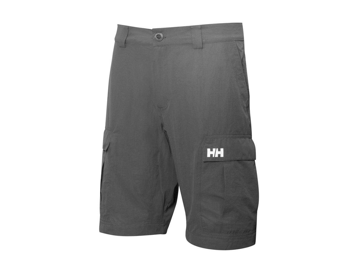 Helly Hansen HH QD CARGO SHORTS 11 - EBONY - 33 (54154_980-33 ) - AZONNAL ÁTVEHETŐ