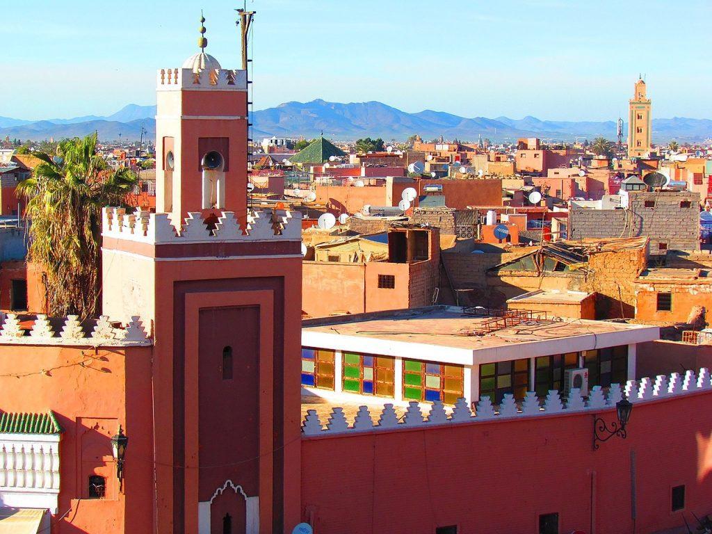 MARAKESH, Marokkó, repülős utazás - szállás 3 éjszakára 2 főnek 3*os szállodában reggelivel+ repülőjegy illetékekkel, június-október között