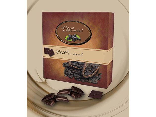 ChoCordial csokoládé + fekete berkenye őrlemény