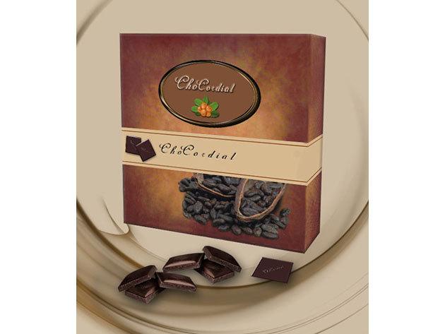 ChoCordial csokoládé + homoktövis őrlemény