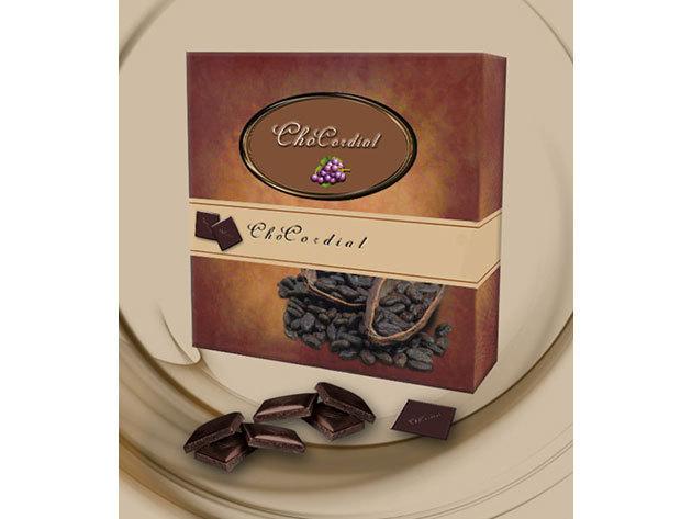 ChoCordial csokoládé + szőlőmag őrlemény