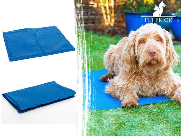 Hűsítő szőnyeg kutyáknak, macskáknak (40x50cm) - a legideálisabb nyári fekhely kedvencednek, akár utazáshoz is