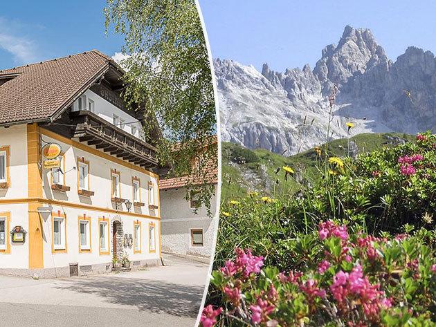 Ausztria - szállás a Gasthof Mentenwirt-ben 4 éjszakára 2 fő részére félpanzióval Salzburgerland régióban