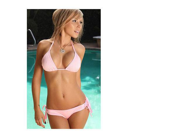 Világos pink bikini