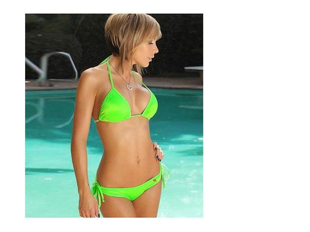 Zöld bikini