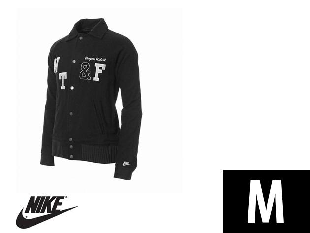"Nike ""College"" férfi fekete átmeneti dzseki (M)"