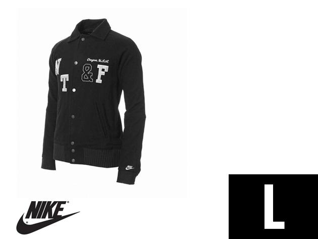 "Nike ""College"" férfi fekete átmeneti dzseki (L)"