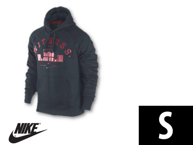"Nike ""LeBron Witness"" férfi kapucnis, kenguruzsebes felső (S)"