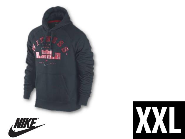 """Nike """"LeBron Witness"""" férfi kapucnis, kenguruzsebes felső (XXL)"""