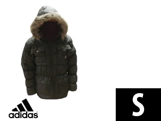 Adidas Performance vastag, bélelt férfi télikabát (S)