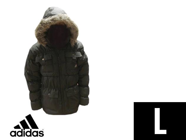Adidas Performance vastag, bélelt férfi télikabát (L)