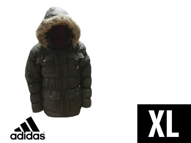 Adidas Performance vastag, bélelt férfi télikabát (XL)