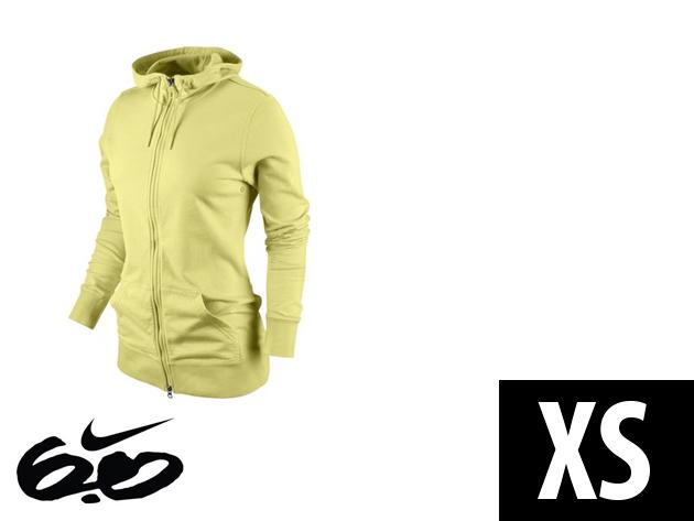 """Nike """"Icon"""" végig cipzáros, sárga, női felső (XS)"""