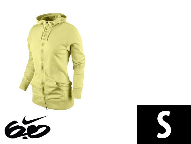 """Nike """"Icon"""" végig cipzáros, sárga, női felső (S)"""
