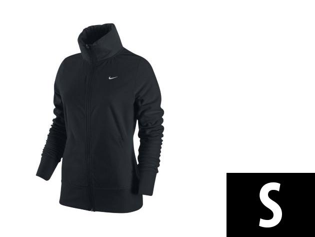 "Nike ""Therma-Fit"" végig cipzáros, fekete, női felső (S)"