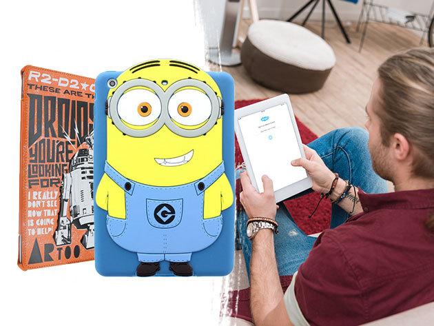 iPad védőtokok választható dizájnban: StarWars, Minion, baglyos, színes