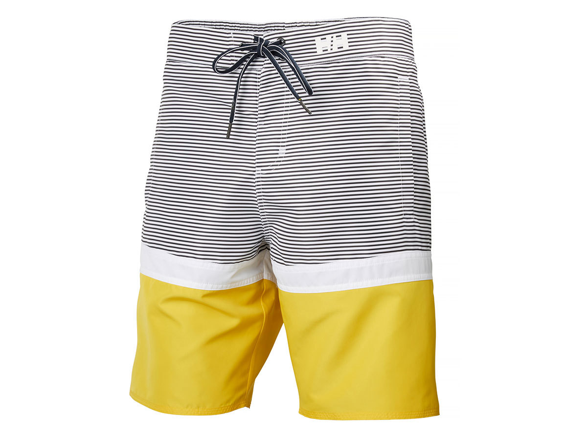 Helly Hansen MARSTRAND TRUNK - EBONY STRIPE - 34 (33982_980-34 )