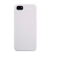iPhone 5 szilikon tok (STM Opera) (Fehér)