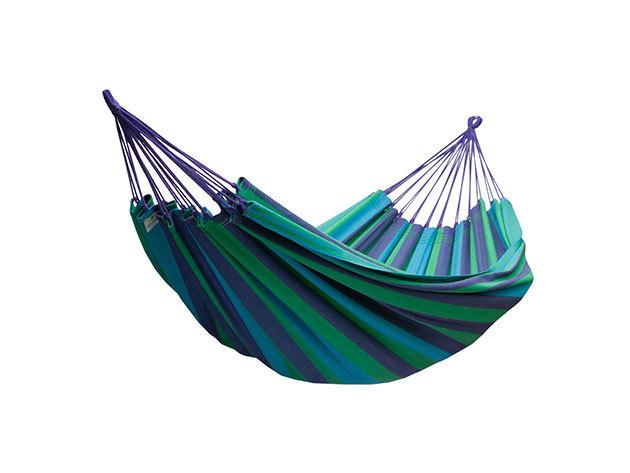 2 személyes függőágy (Kék-Zöld) IRP-000003930