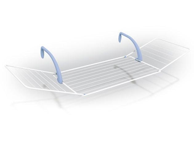 Ruhaszárító erkélyre. fürdőkádra, radiátorra 178,5x55x27,5 cm EA (01HTI-200506)