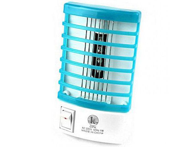 Szúnyogirtó, rovarcsapda 4x LED UV-A típusú fénnyel