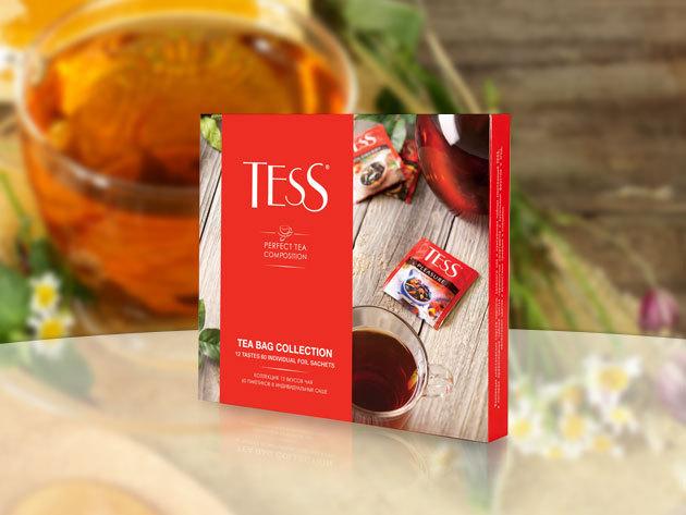 Tess teaválogatás különleges ízekben: 12x4 db filter