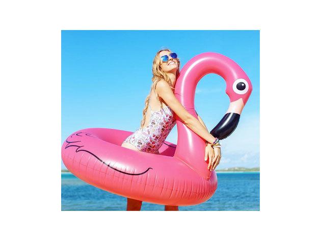 Pink flamingó óriás / 240 x 240 x 130 cm