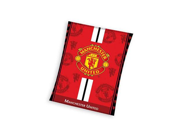 Manchester United FC pléd (MU3003M-BLK)