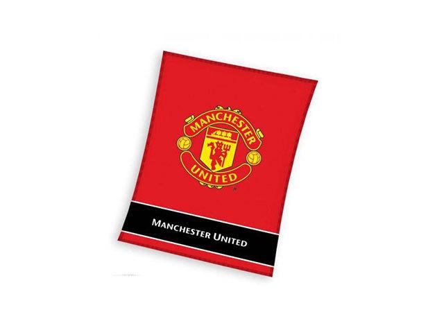Manchester United FC pléd (MU8007BLK)