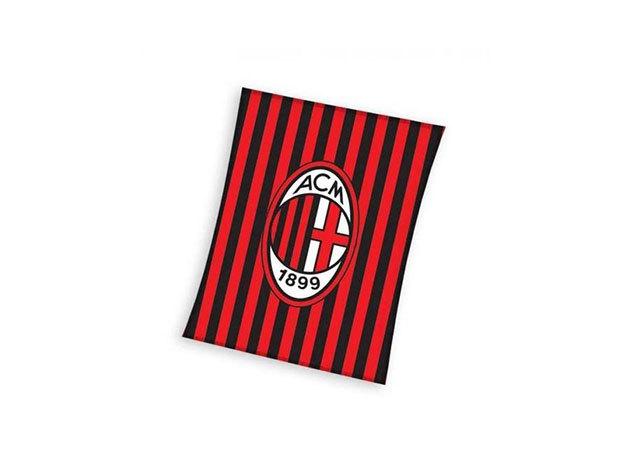 AC Milan pléd (ACM8002BLK)