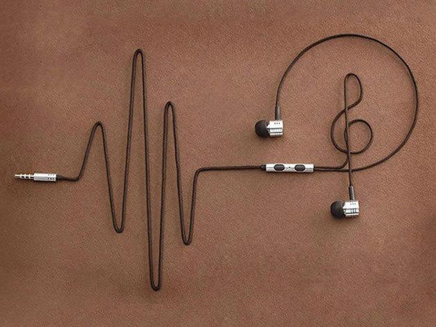 Fülhallgató textil vezetékkel és mikrofonnal, prémium dizájnnal - Élvezd az eszméletlen jó hangzást!