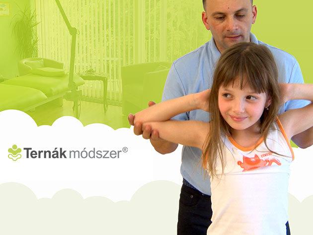 Ternák Módszer® speciális masszázstechnológia és mobilizációs nyújtások gyermekeknek a belvárosban, 1 alkalom / Benyovszky Orvosi Központ