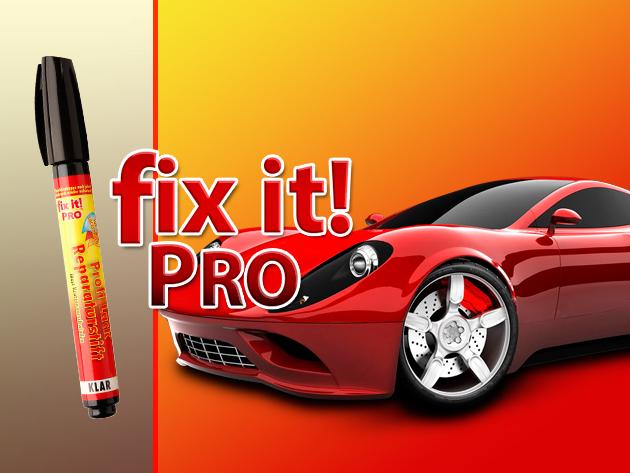 Tüntesd el autódról a karcolásokat a Fix It Pro segítségével!