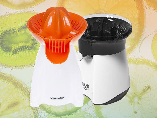 Elektromos citrusfacsaró készülékek - minden értékes cseppet kifacsarhatsz a narancsból, citromból, limeból, grapefruitból...