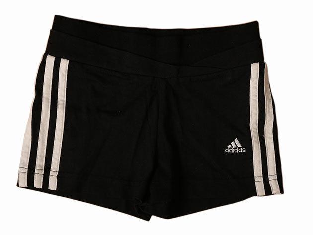 Adidas YG 3S Core Short - lány short (fekete) E13815 - 116