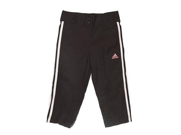 Adidas YG3SA 3/4 Woven Pant - lány bermuda (fekete) E15572 - 128