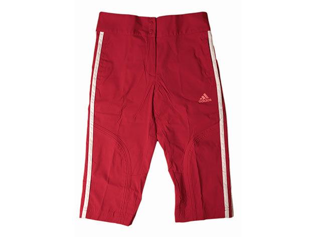 Adidas YG3SA 3/4 Woven Pant - lány bermuda (piros) E15573 - 140