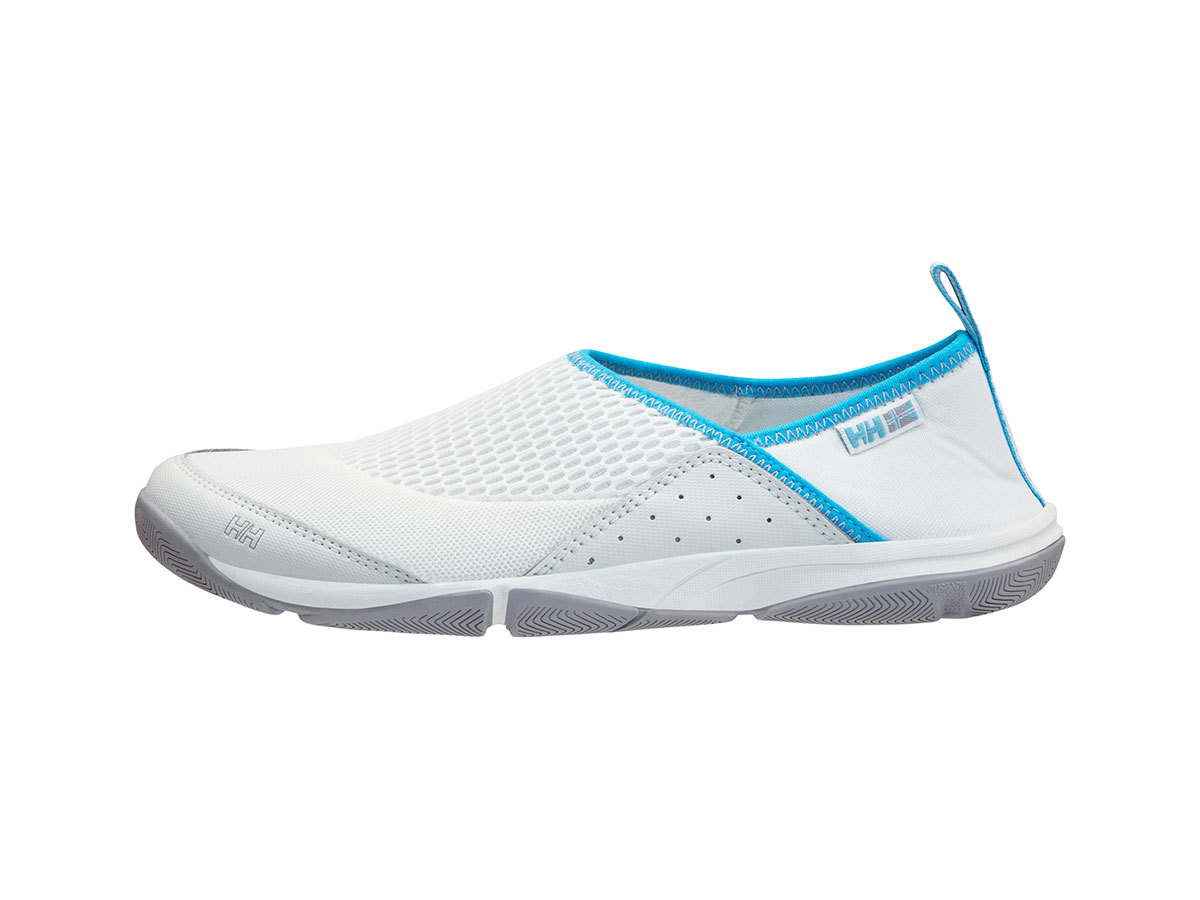 Helly Hansen W WATERMOC 2 - OFF WHITE / AQUA BLUE / S - EU 37.5/US 6.5 (11122_011-6.5F )