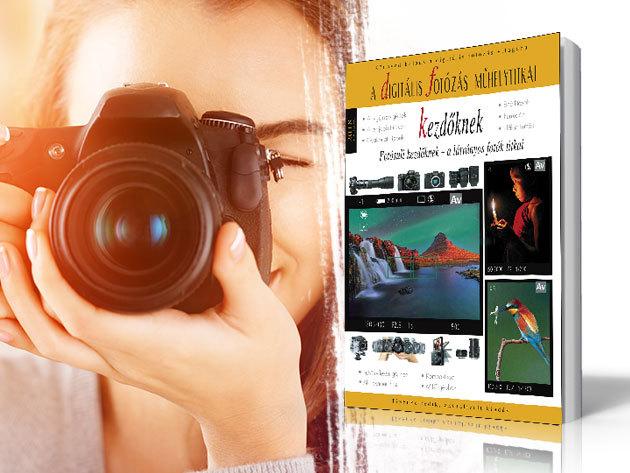 Digitális fotózás népszerű kézikönyvek kezdőknek és haladóknak - makrofotózás, tájfotózás, vadvilág fotózás