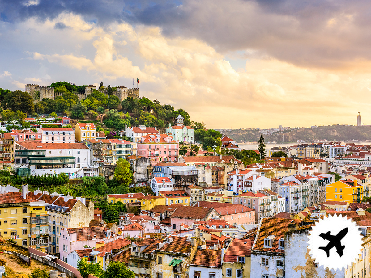 Lisszabon, repülős utazás - szállás a Residencial Horizonte***-ban 4nap/3éjszakára 2 fő részére, repjeggyel, reggelis ellátással, illetékkel