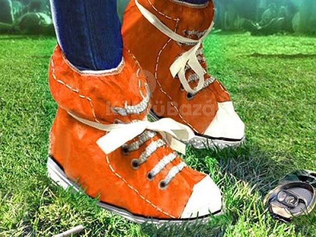 Fesztiválozó cipővédő - megóvja lábbelidet a víztől, sártól, portól, mindig nálad lehet...