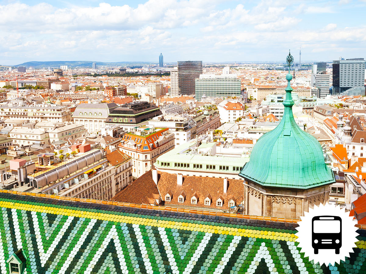 Bécs, buszos utazások - 6 választható program: Duna torony, Madame Tussaud Panoptikum, Schönbrunn, Hofburg, Hundertwasser-házak, A Tenger Háza