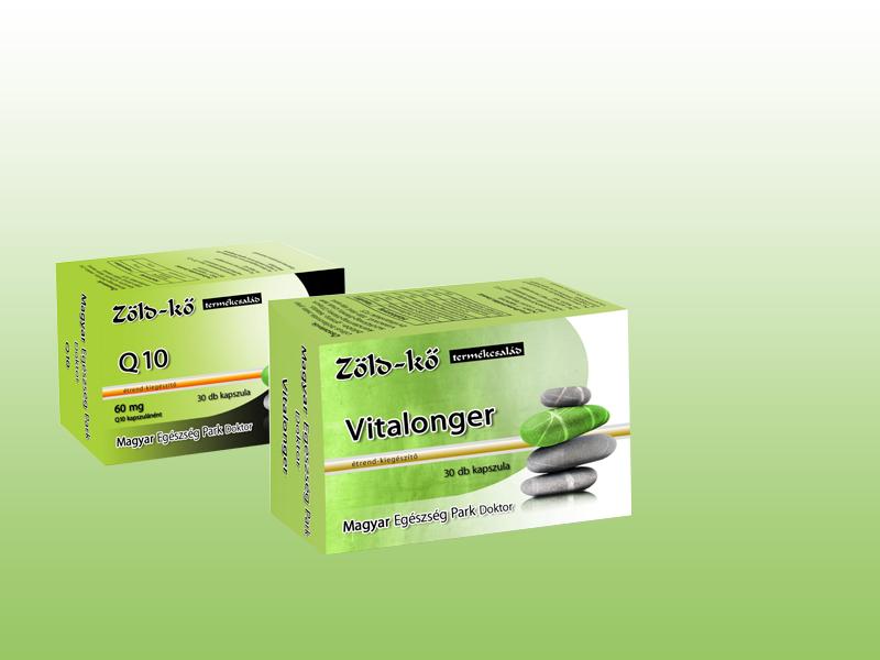 Zöld-kő Vitalonger kapszula (30 db) + ajándék Q10 kapszula (30 db)