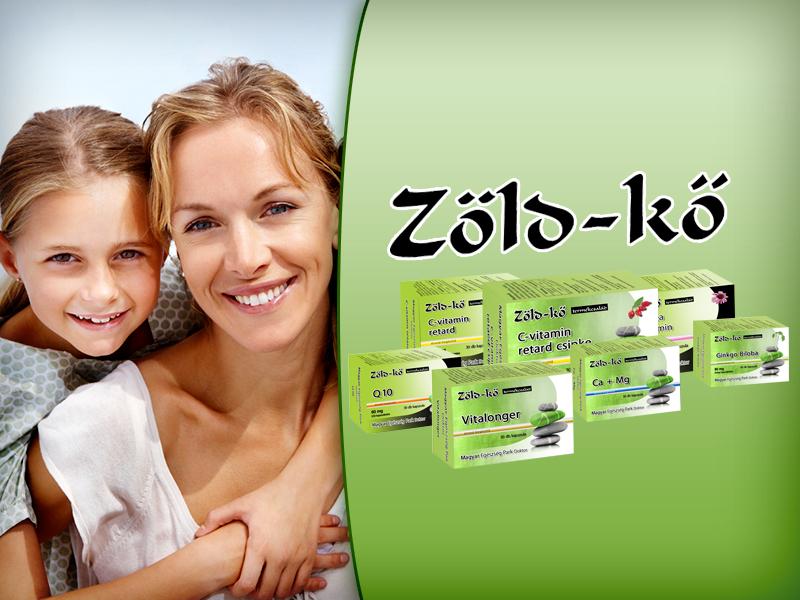 Zöld-kő étrend-kiegészítő készítmények a természetes egészségért!