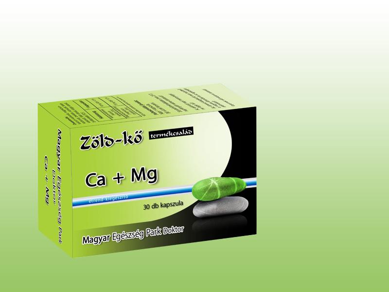 Zöld-kő Ca + Mg kapszula (30 db)